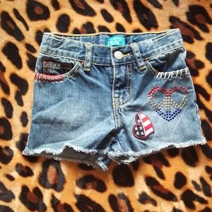 The childrens Place Patriotic shorts